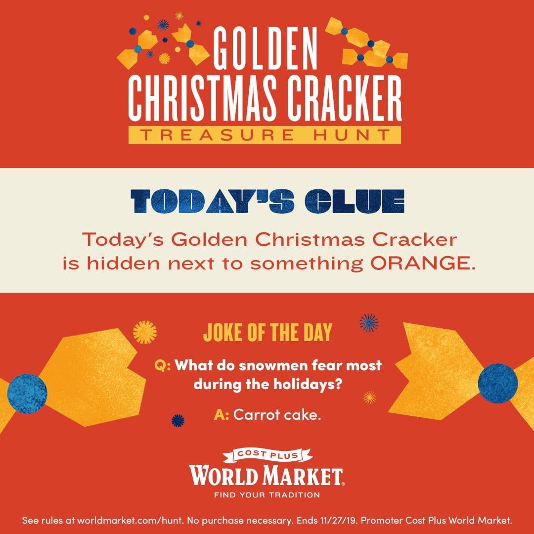 Christmas Cracker Clue