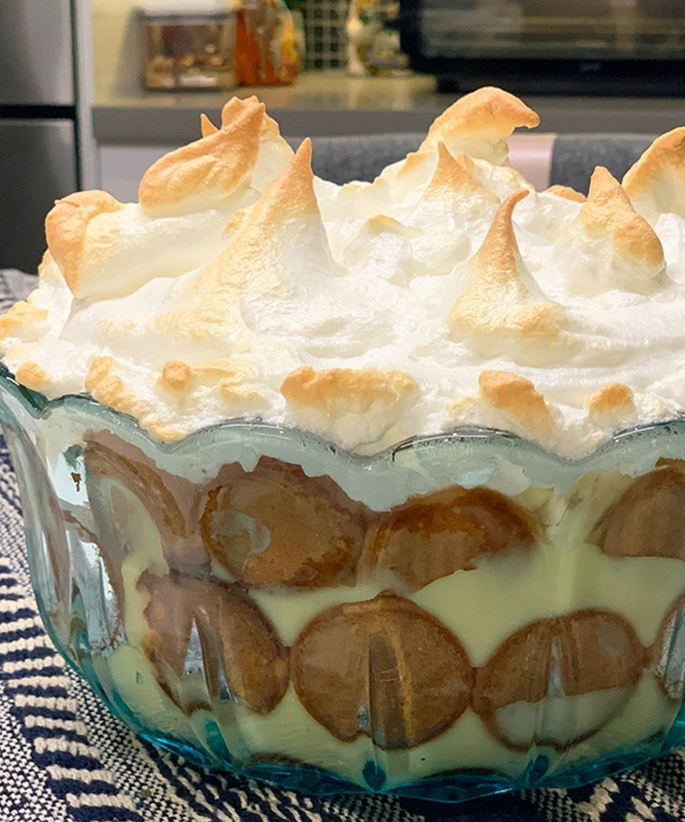 Homemade Nilla Baked Banana Pudding Recipe