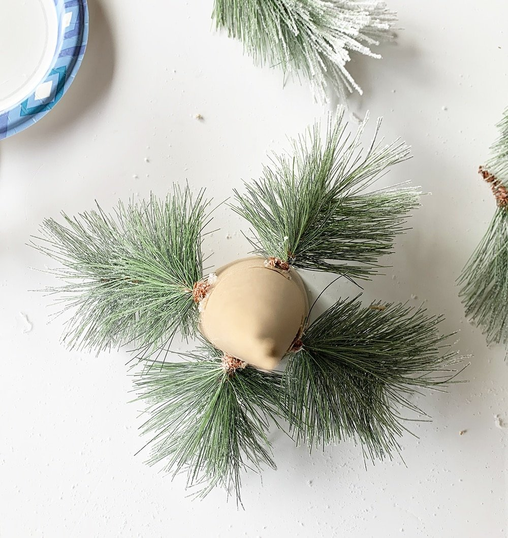 DIY Holiday Tree Figurine, Cone Tree