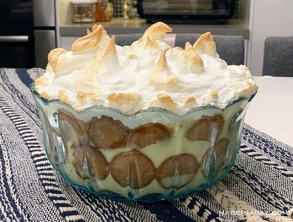 Homemade Nilla Baked Banana Pudding Recipe 5