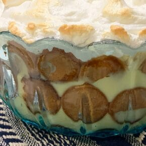 Homemade Nilla Baked Banana Pudding Recipe 1