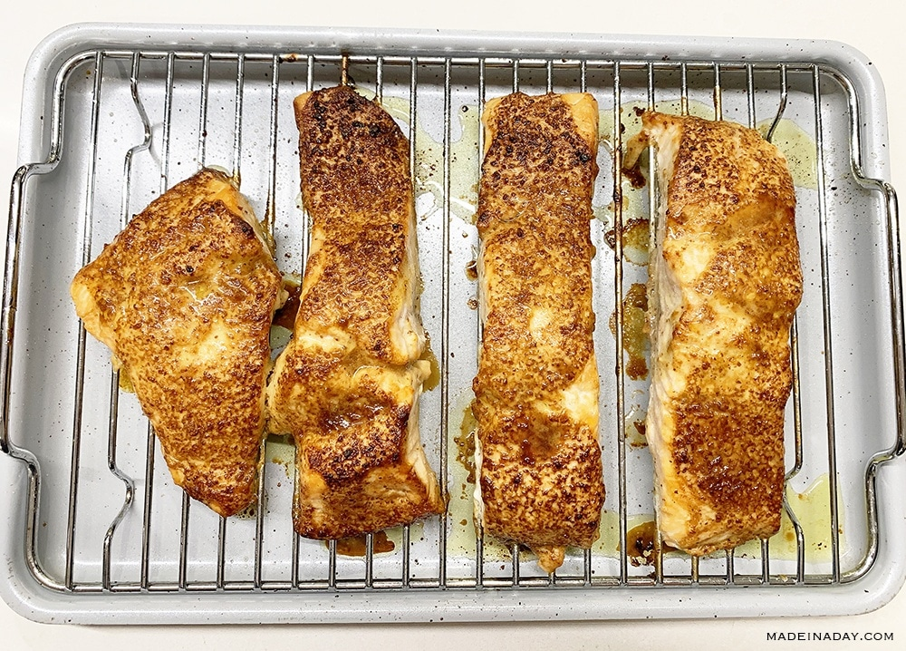 Asian Style Oven Baked Salmon 3