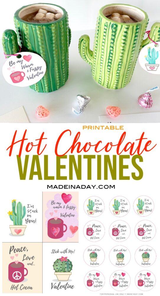 Cactus Valentine Card Printables 7