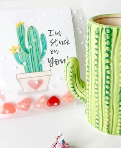 Cactus Valentine Card Printables 1