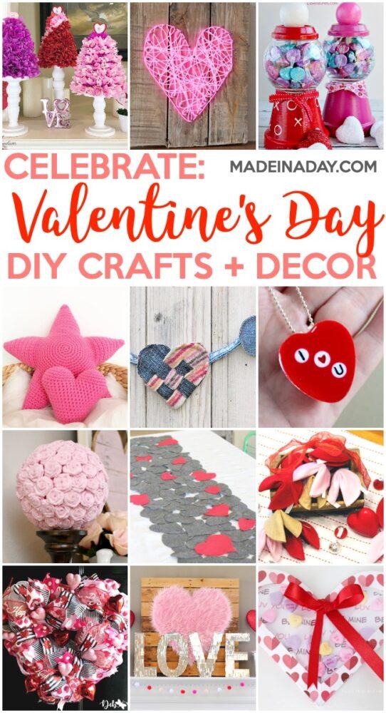 12 Easy to Make Valentine Wreaths + Door Hangers 2