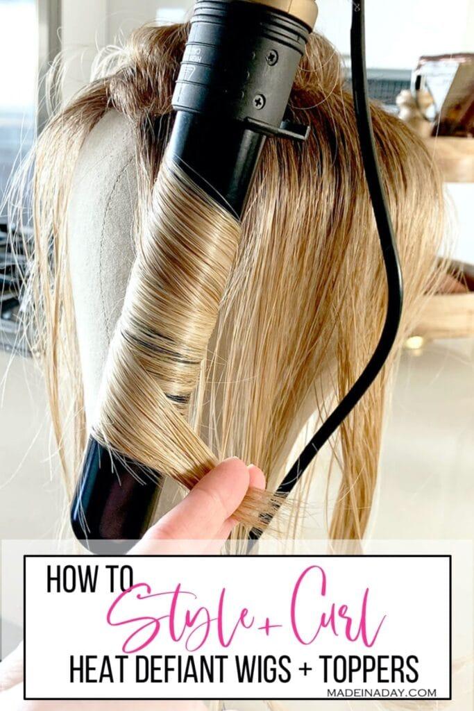 style heat friendly hair, curl heat defiant hair