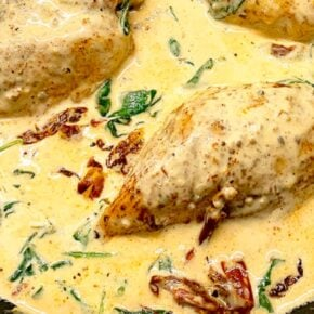 Creamy Baked Tuscan Chicken Recipe 1