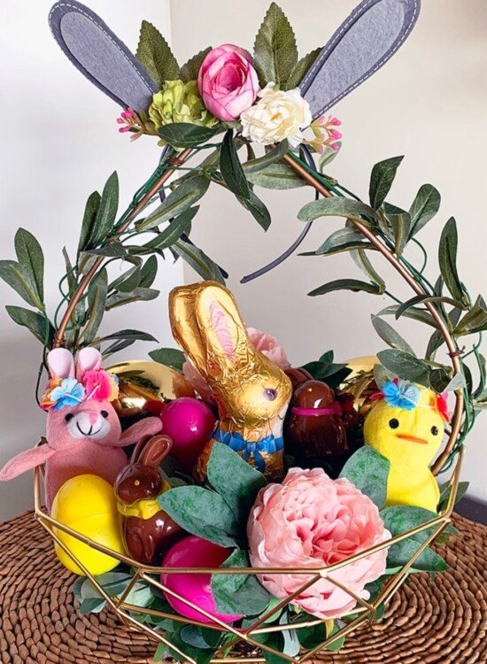 Charming Boho Style Woodland Easter Basket 32