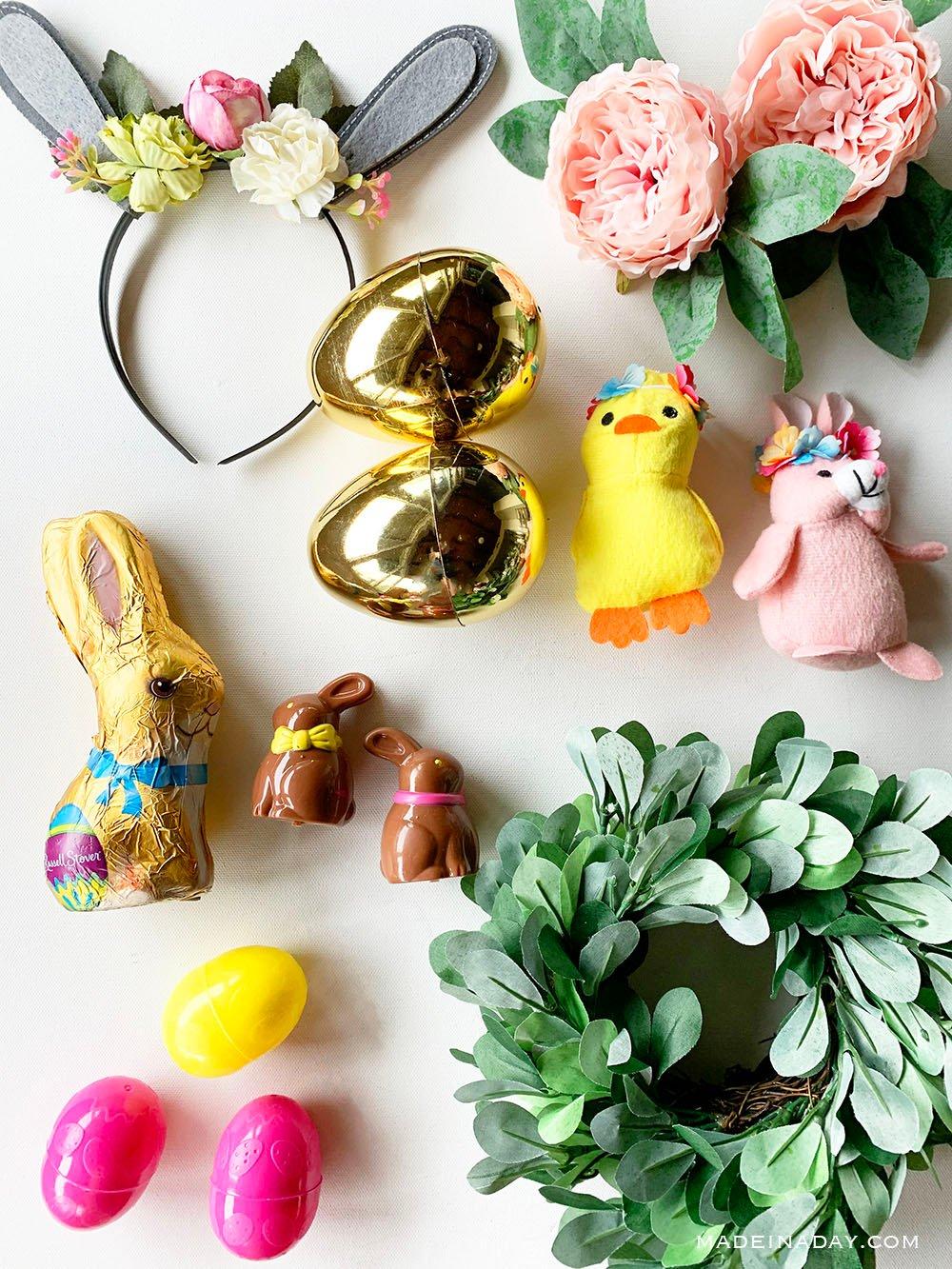 woodland Easter basket fillers, boho Easter basket fillers,