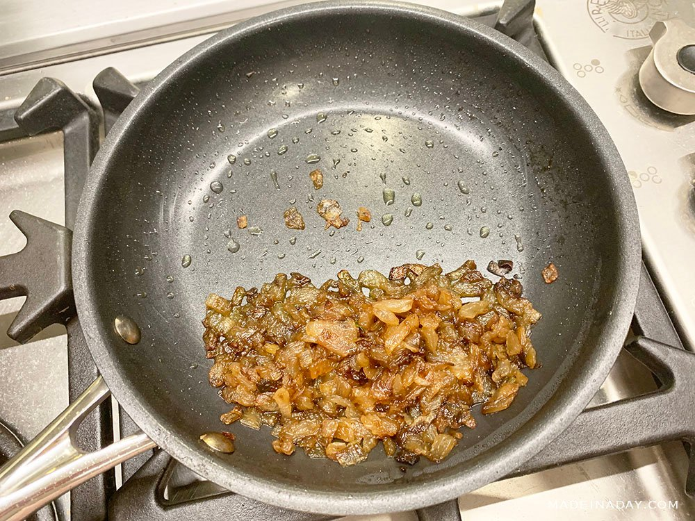 the best caramelized onions,