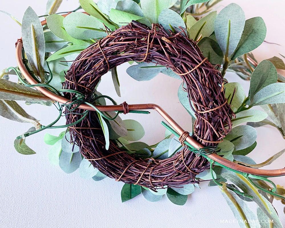 wreath basket
