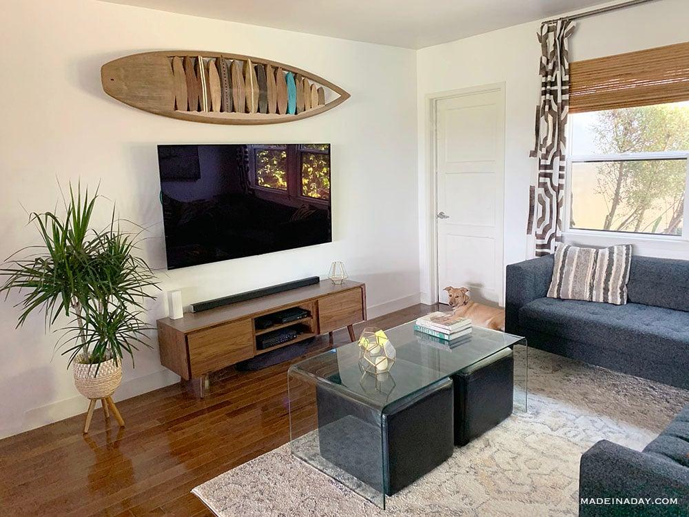 modern surf shack beach house
