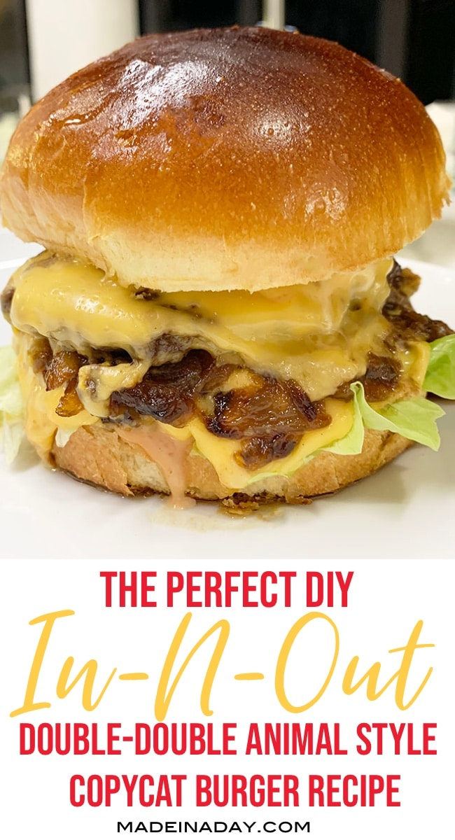 Perfect In-N-Out Burger Double Double Animal Style 2