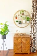 Modern Surf Shack Entryway with Plants 11
