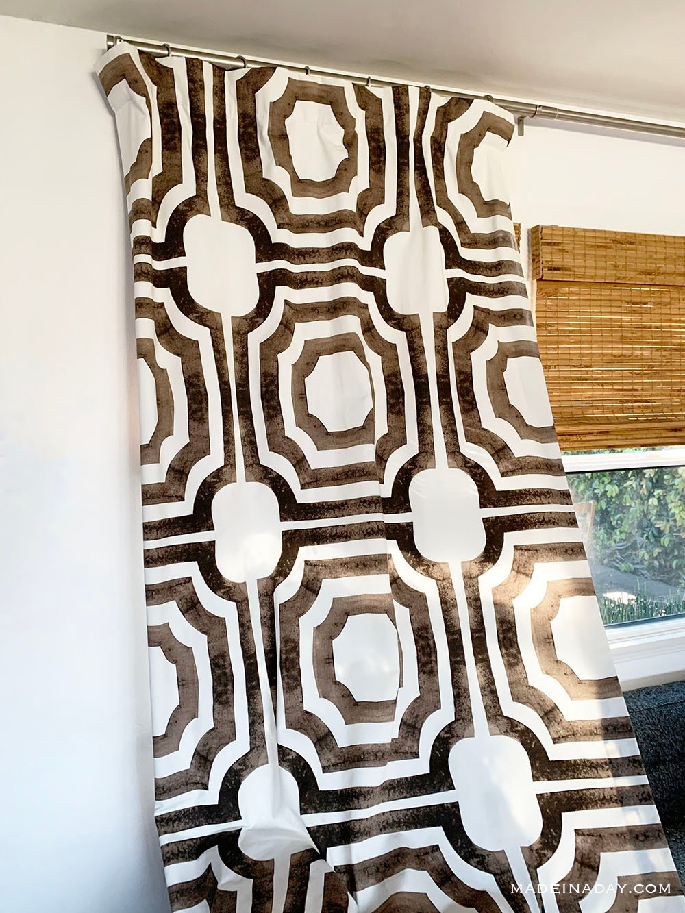 Brown Mecca Cotton Drapes, The best chic drapes
