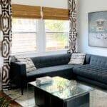 Boho Living Room Makeover: Pop of Color with World Market 2