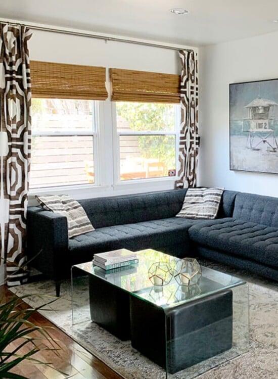 Modern Surf Shack Chic Living Room 4