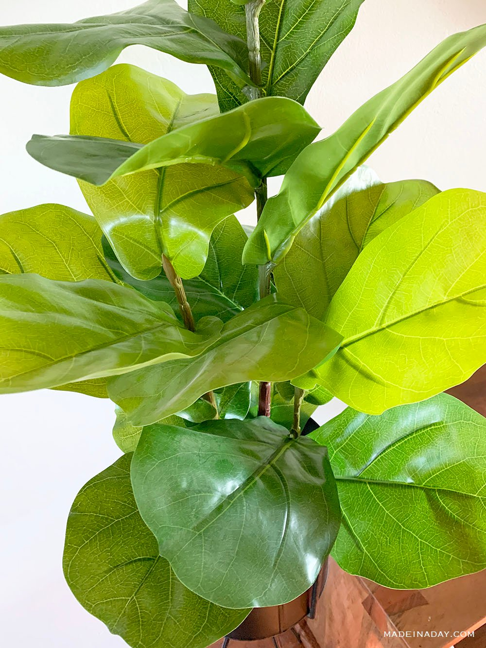 faux fiddle leaf tree, best fake fig tree