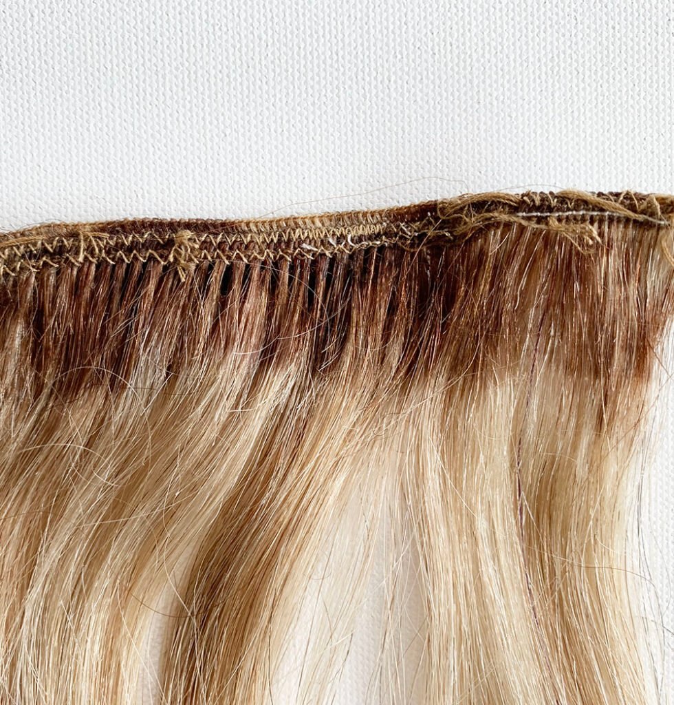 Adding Wefts to a Hair Topper or Wig 32