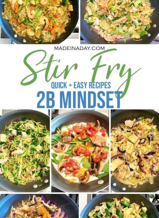 Quick 2B Mindset Stir Fry Recipes 6