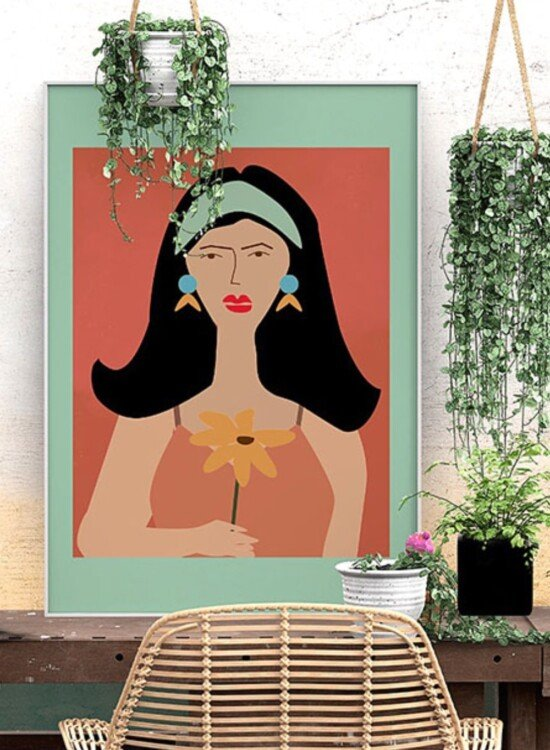Abstract Lady Art Prints 2