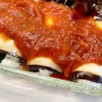 Skinny Baked Eggplant Rollatini with Spinach 1
