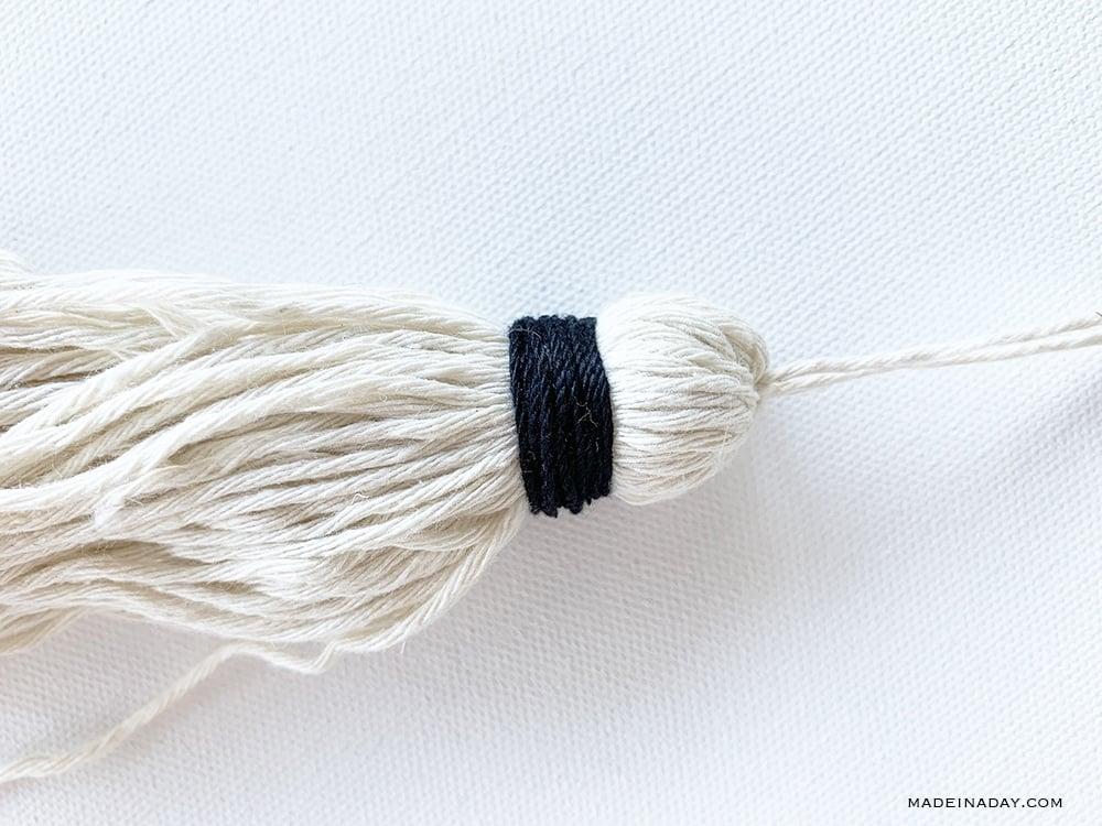 DIY Door Hanger Tassel Chime 4