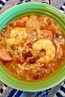 Simple Semi Homemade Jambalaya (Sausage, Chicken, and Shrimp) 8