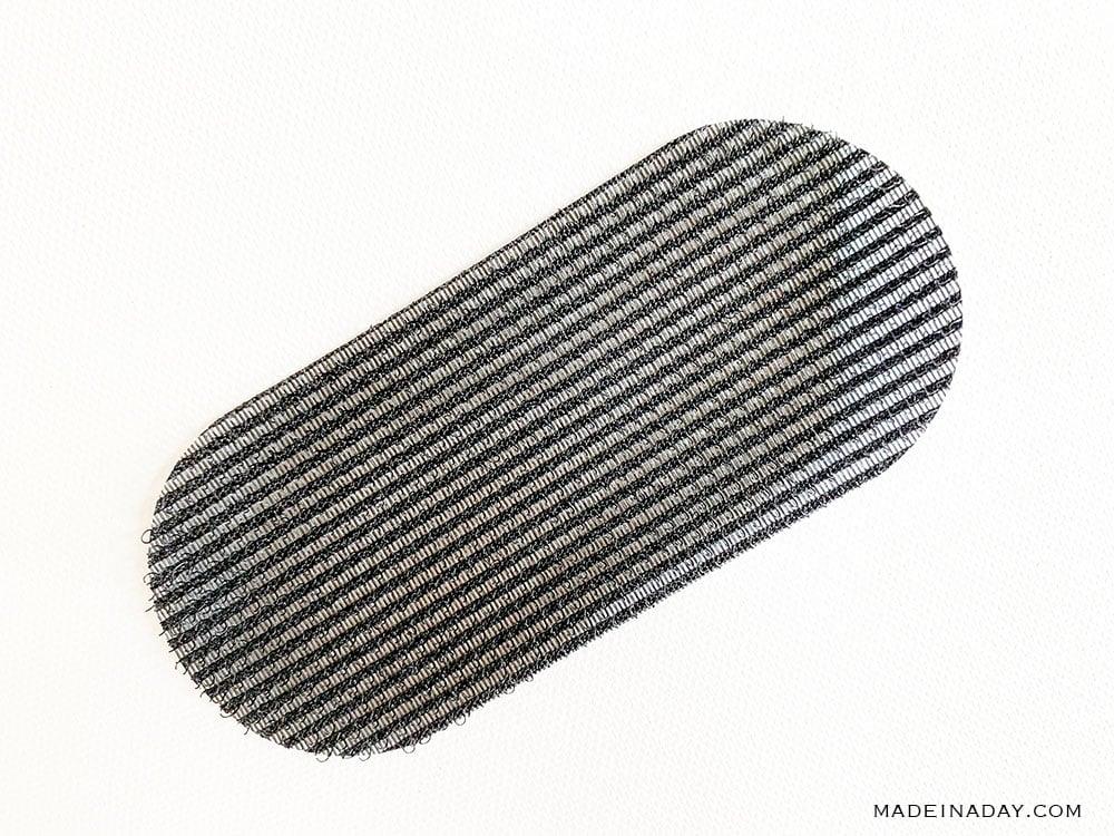 hair piece velcro pads