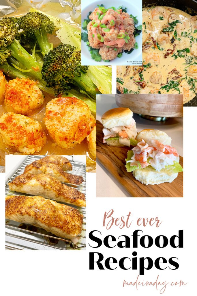 Best ever seafood recipes