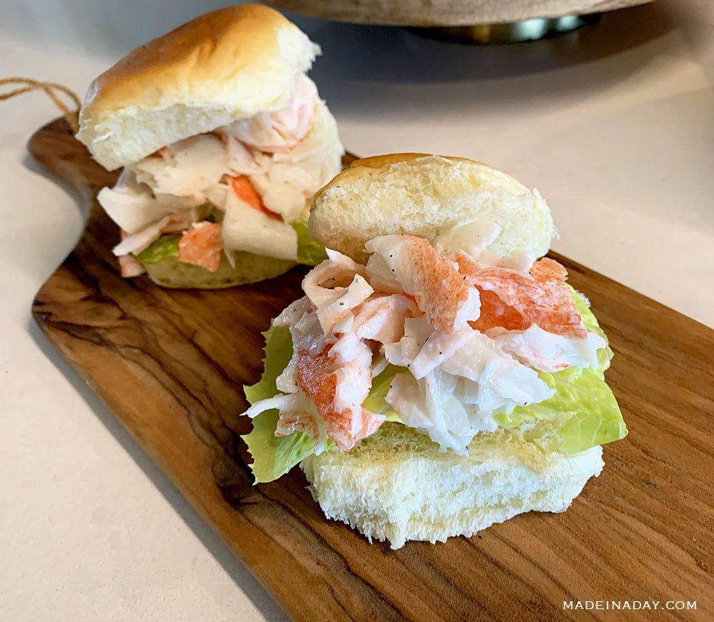 Subway Seafood Sensation recipe, imitation crab salad, publix crab salad