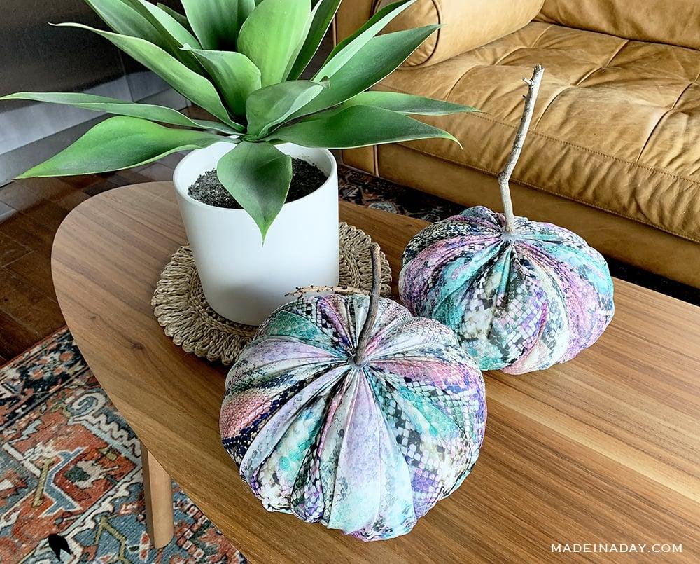 green snakeskin pumpkins