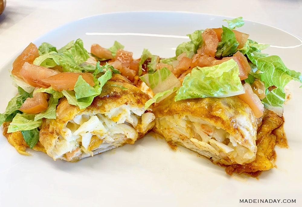 Loaded Baked Seafood Burrito Recipe 3