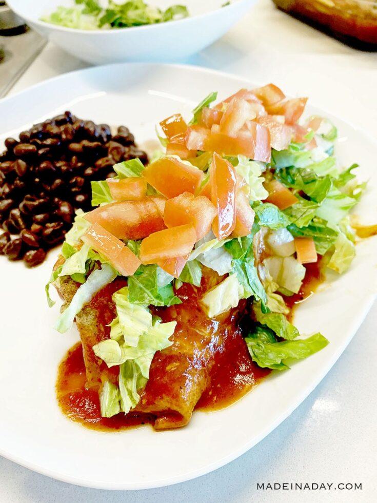 Loaded Baked Seafood Burrito Recipe 2