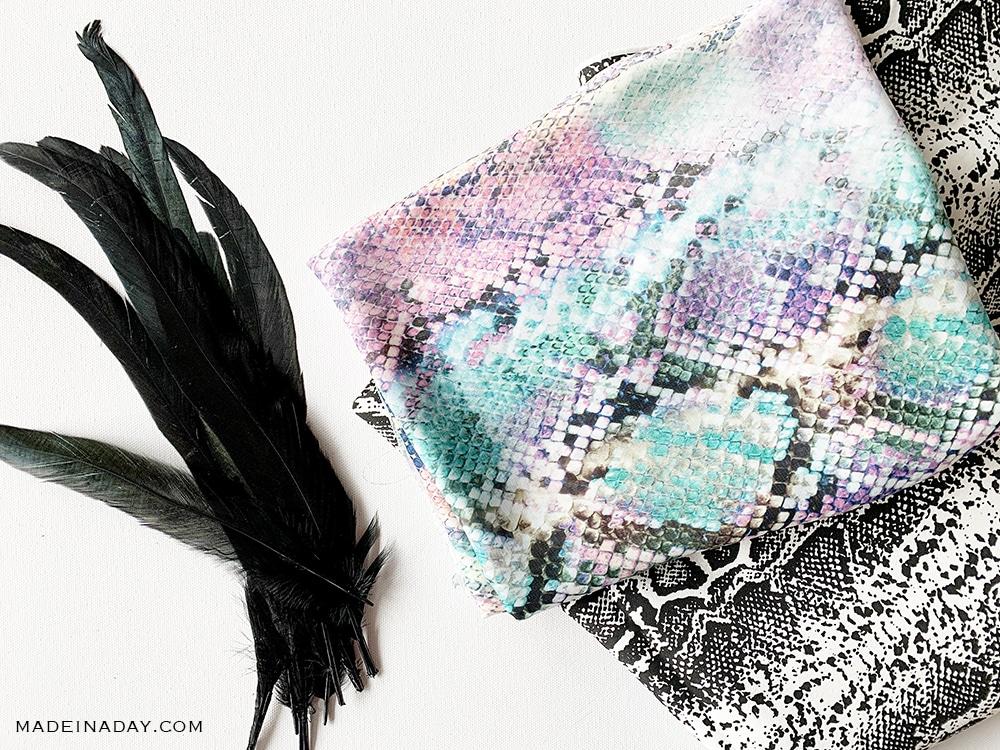 Snakeskin fabric