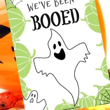 You've Been Booed Halloween Printable Treat Game 13