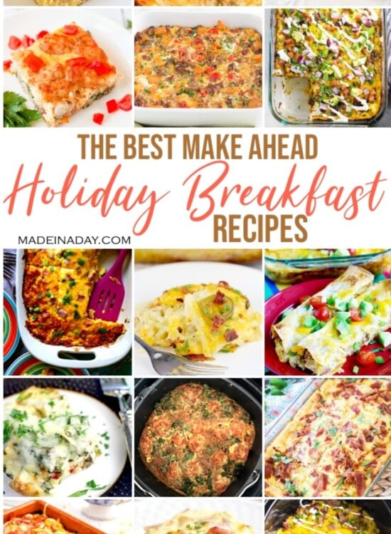 24 Holiday Breakfast Casseroles Made the Night Before 1