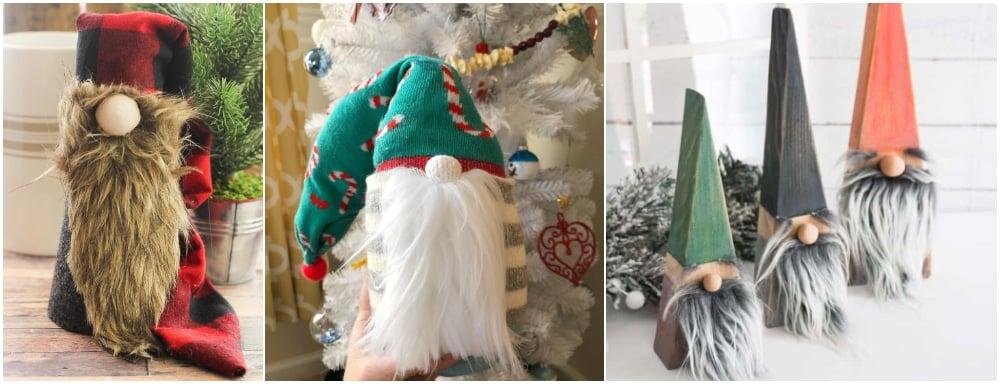 DIY holiday gnomes DIY