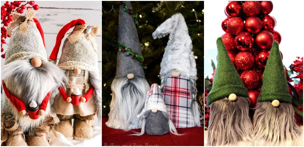 Holiday gnome crafts