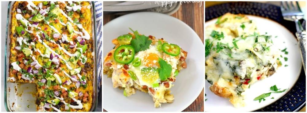 overnight Mexican breakfast casseroles