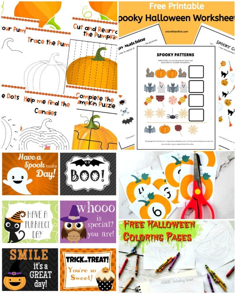halloween homeschool activities