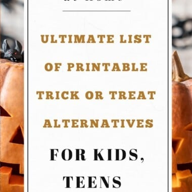 Ultimate List of 60+ Printable Trick or Treat Alternatives (Kids to Adults) 14