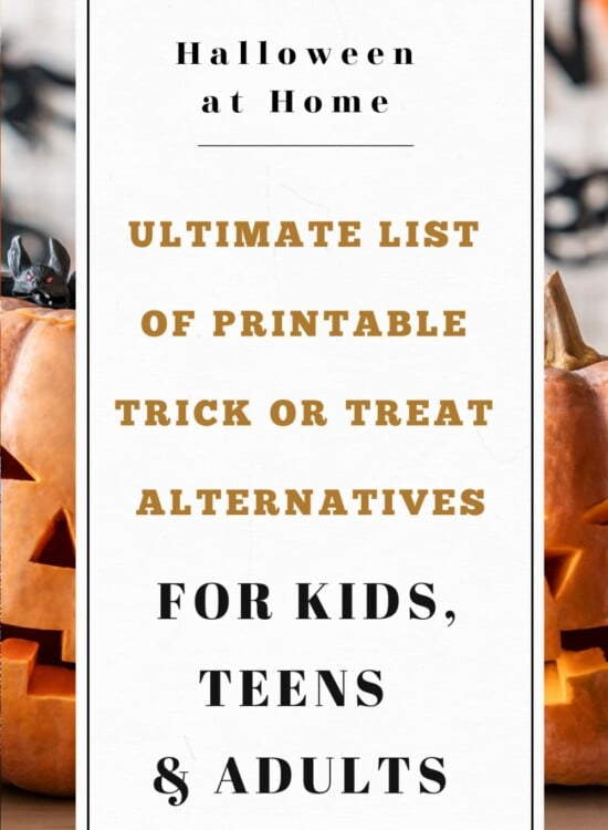 Ultimate List of 60+ Printable Trick or Treat Alternatives (Kids to Adults) 3