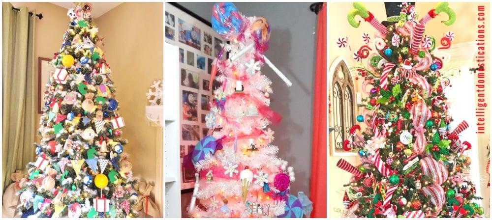 animal crossing christmas tree, candy christmas tree, elf christmas tree