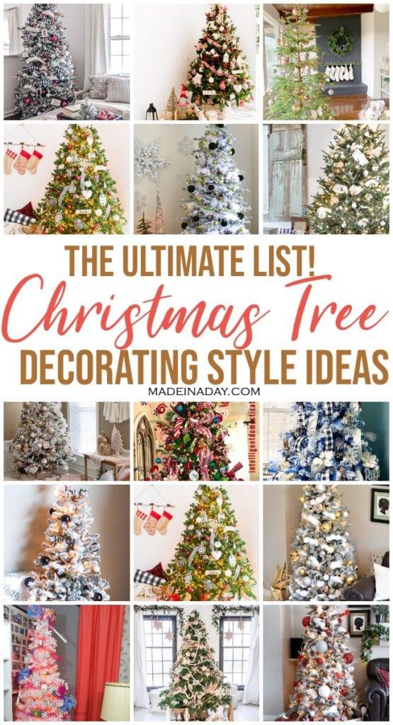 40 Christmas tree styles