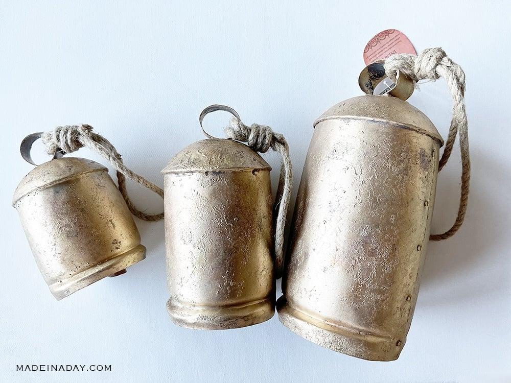 gold harmony bells