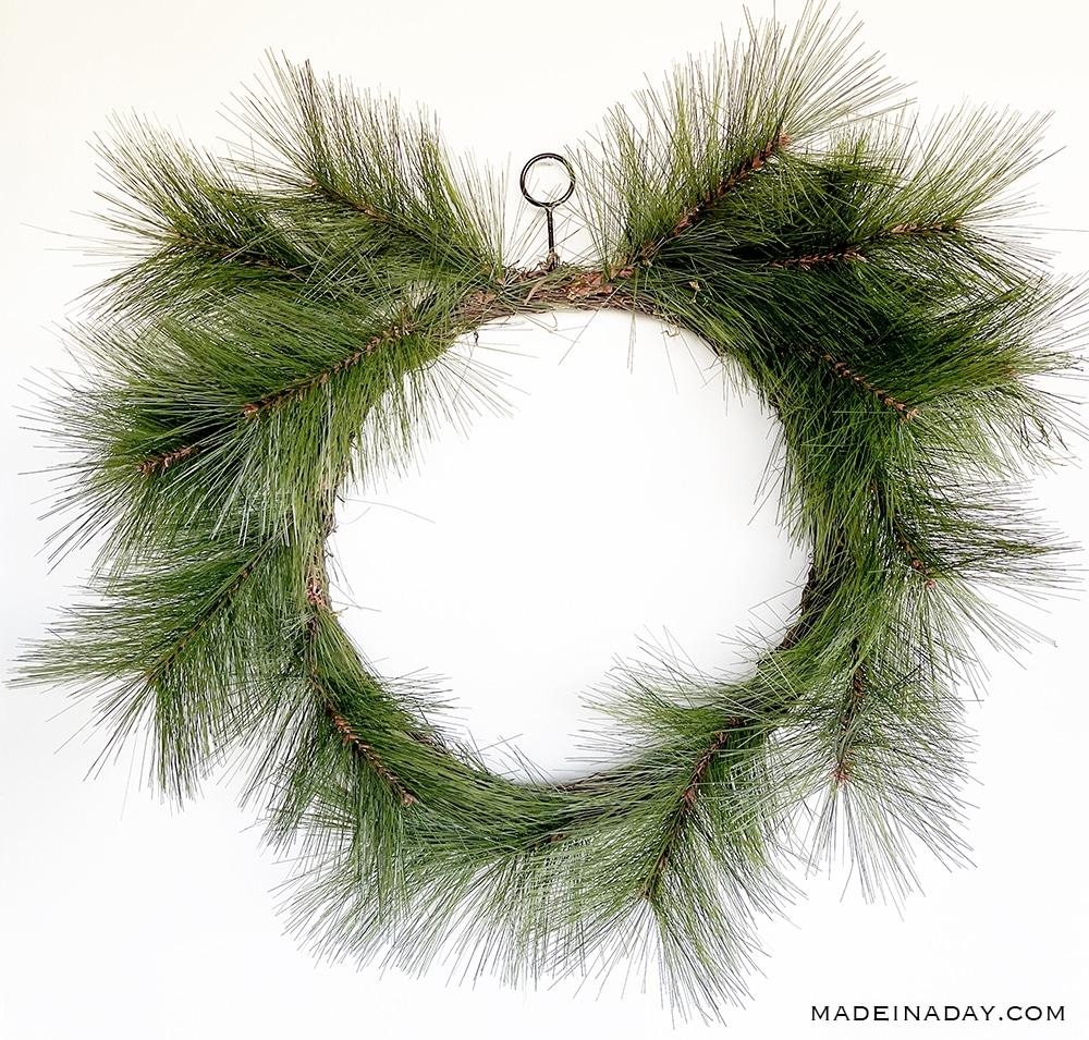 long pine needle wreath