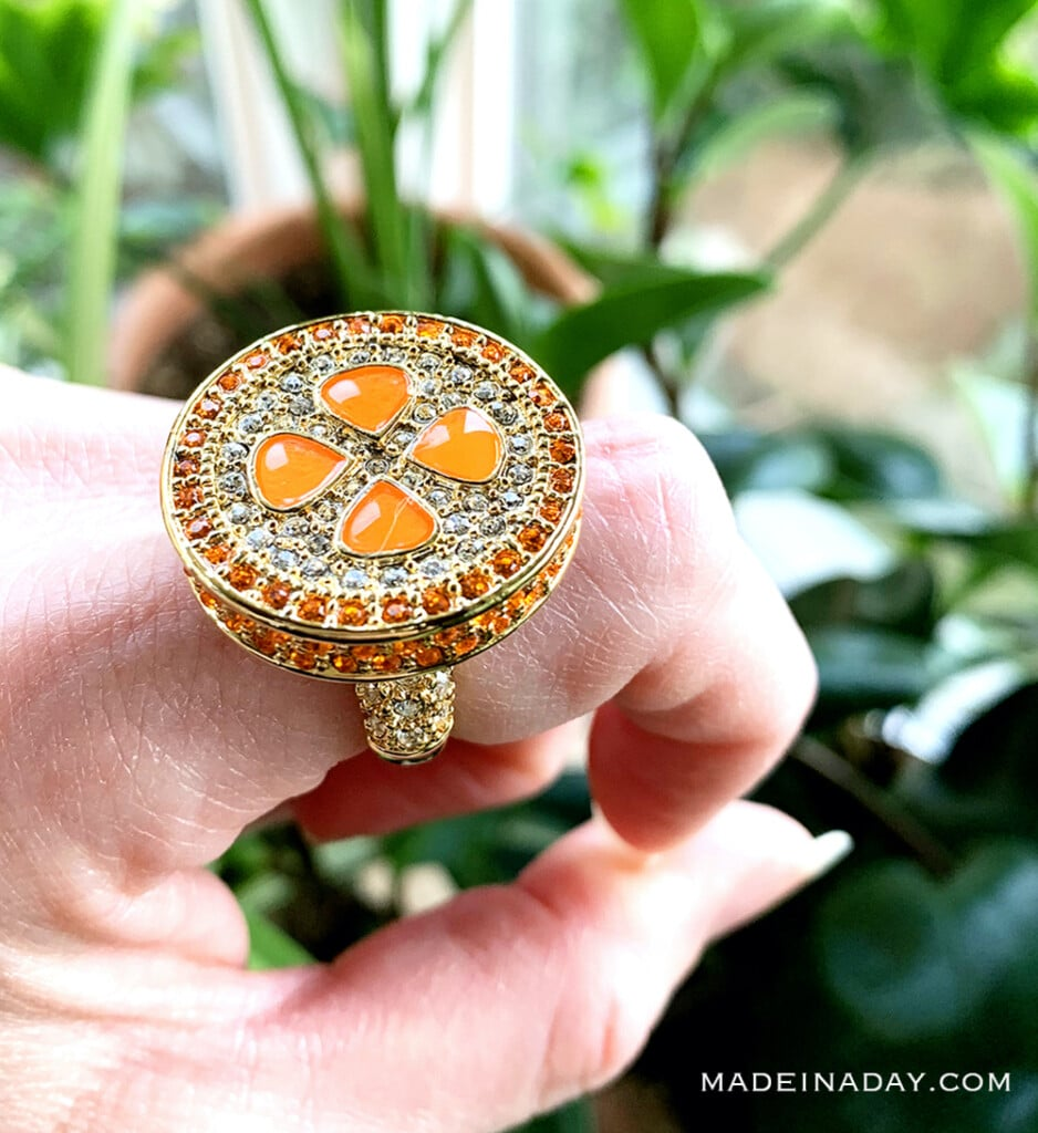 Sun Kissed ring