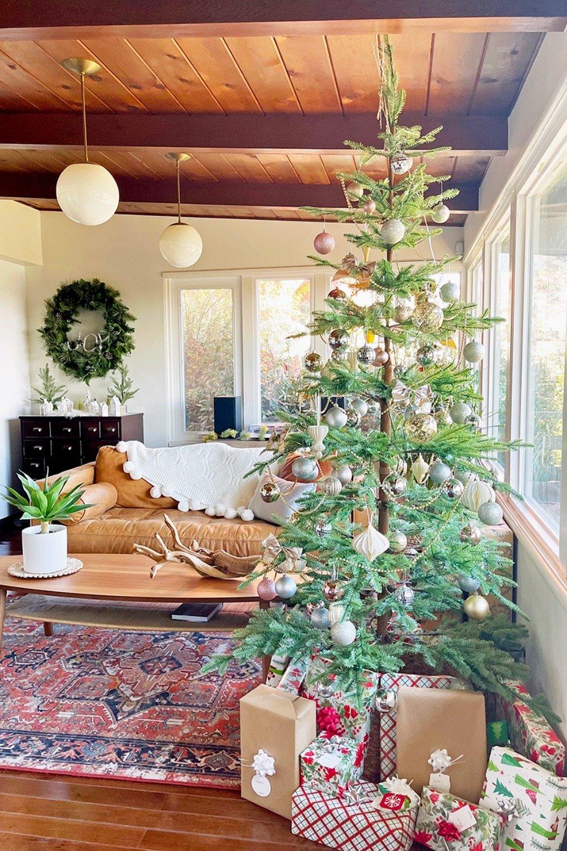 Boho Modern Style  Christmas Home Tour