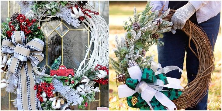 Farmhouse wreath ideas
